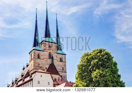 Saint Severi Church In Erfurt