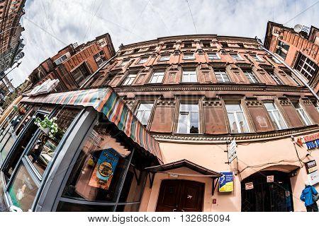 Rubinsteina Street In St.petersburg