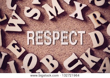 Respect Concept Word