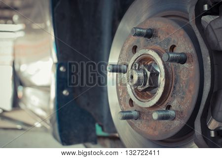 Wheel Hub And Brake
