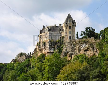 Chateau de Montfort in France's Dordogne region