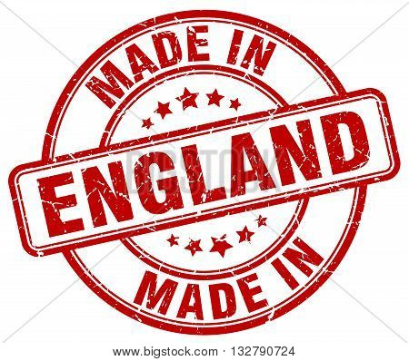 made in England red round vintage stamp.England stamp.England seal.England tag.England.England sign.England.England label.stamp.made.in.made in.