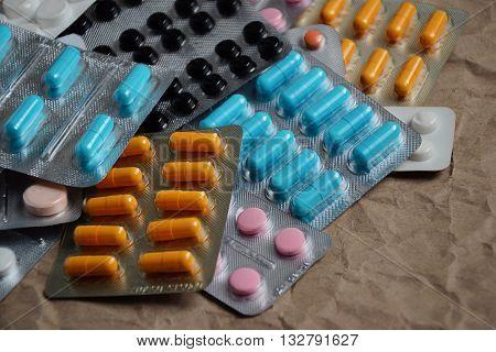 Pills Drugs Capsules Medicine Background 3
