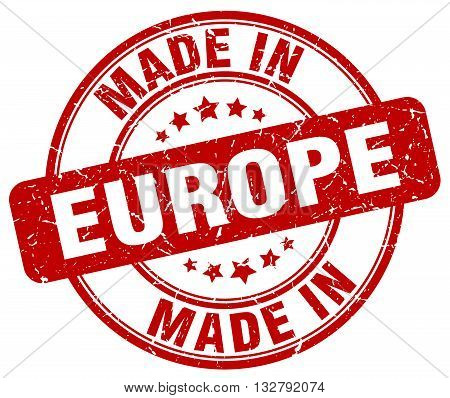 made in europe red round vintage stamp.europe stamp.europe seal.europe tag.europe.europe sign.europe.europe label.stamp.made.in.made in.