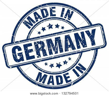 made in Germany blue round vintage stamp.Germany stamp.Germany seal.Germany tag.Germany.Germany sign.Germany.Germany label.stamp.made.in.made in.