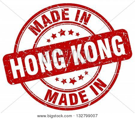made in Hong Kong red round vintage stamp.Hong Kong stamp.Hong Kong seal.Hong Kong tag.Hong Kong.Hong Kong sign.Hong.Kong.Hong Kong label.stamp.made.in.made in.