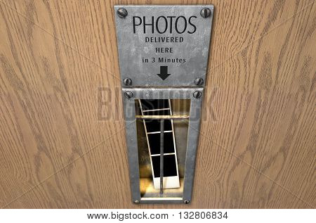Vintage Photo Booth Pickup Slot