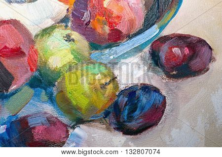 Texture Painting Oil Painting On Canvas, Abstract Oil Still Life, Fine Art Impressionism, Painted Co
