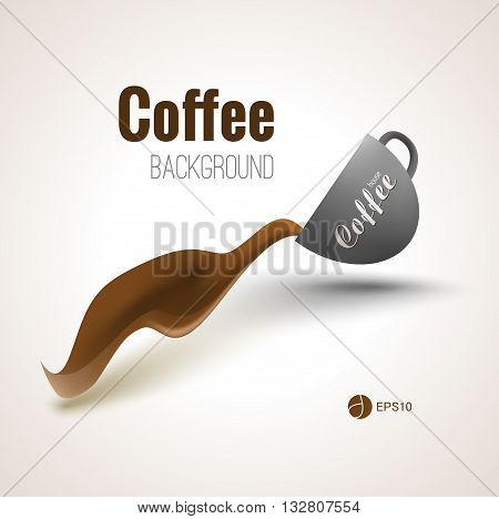 Coffee background for your designs, posters and advertisment.