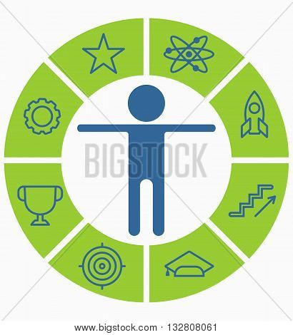 Business People Icons Choice