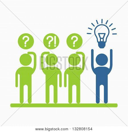 Business People Icons Idea