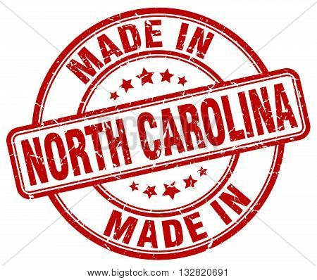 made in North Carolina red round vintage stamp.North Carolina stamp.North Carolina seal.North Carolina tag.North Carolina.North Carolina sign.North.Carolina.North Carolina label.stamp.made.in.made in.