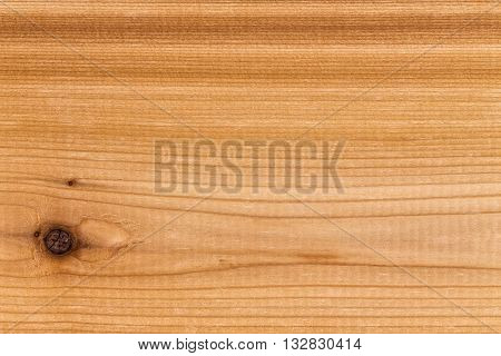 Single Solid Panel Of Decorative Cedar Wood