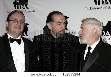 John Paul De Joria and Dr. Elliott Katz at the 'In Defense of Animals Hosts 2nd Annual Guardian Award' at the Paramount Studios in Los Angeles, USA on October 30, 2004.