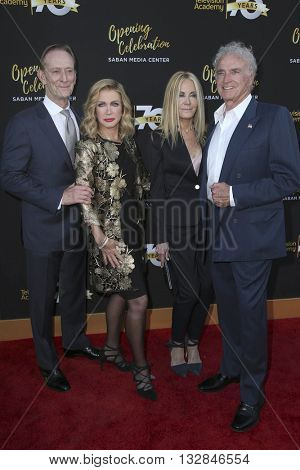 LOS ANGELES - JUN 2:  Ted Shackelford, Donna Mills, Joan Van Ark, Kevin Dobson at the Television Academy 70th Anniversary Gala at the Saban Theater on June 2, 2016 in North Hollywood, CA