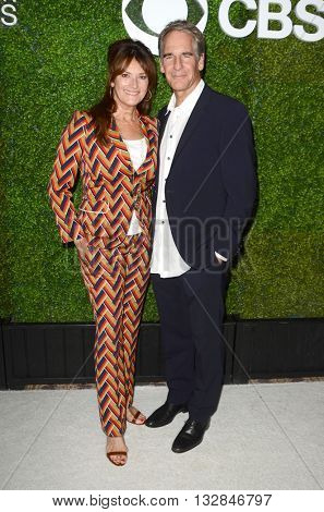 LOS ANGELES - JUN 2:  Chelsea Field, Scott Bakula at the 4th Annual CBS Television Studios Summer Soiree at the Palihouse on June 2, 2016 in West Hollywood, CA
