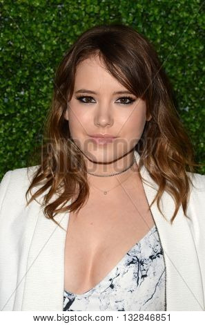 LOS ANGELES - JUN 2:  Taylor Spreitler at the 4th Annual CBS Television Studios Summer Soiree at the Palihouse on June 2, 2016 in West Hollywood, CA