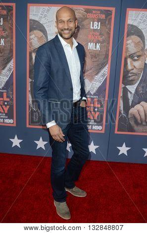 LOS ANGELES - MAY 10:  Keegan-Michael Key at the All The Way LA Premeire Screening at the Paramount Studios on May 10, 2016 in Los Angeles, CA