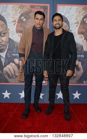 LOS ANGELES - MAY 10:  Staz Nair, Joe Naufahu at the All The Way LA Premeire Screening at the Paramount Studios on May 10, 2016 in Los Angeles, CA