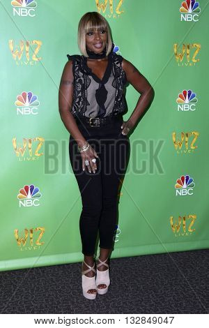 LAS VEGAS - JUN 1:  Mary J Blige at the Television Academy Event For NBC's The Wiz Live! at the Directors Guild of America on June 1, 2016 in West Hollywood, CA