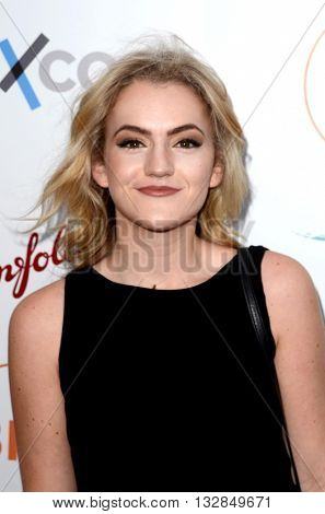 LOS ANGELES - JUN 1:  Olivia Ledger at the 2016 Australians In Film Heath Ledger Scholarship Dinner at the Mr. C on June 1, 2016 in Beverly Hills, CA