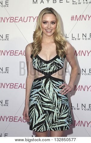 LOS ANGELES - JUN 3:  Greer Grammer at the Maybelline New York Beauty Bash at the The Line Hotel on June 3, 2016 in Los Angeles, CA