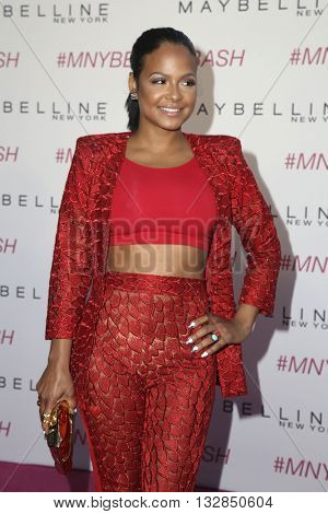 LOS ANGELES - JUN 3:  Christina Milian at the Maybelline New York Beauty Bash at the The Line Hotel on June 3, 2016 in Los Angeles, CA