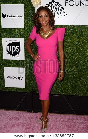 LOS ANGELES - JUN 4:  Holly Robinson Peete at the 2016 Ladylike Women of Excellence Awards Gala at the Beverly Hilton Hotel on June 4, 2016 in Beverly Hills, CA