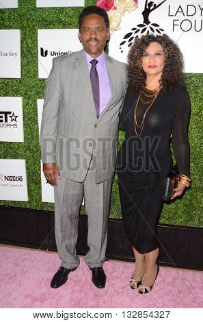 LOS ANGELES - JUN 4:  Richard Lawson, Tina Knowles at the 2016 Ladylike Women of Excellence Awards Gala at the Beverly Hilton Hotel on June 4, 2016 in Beverly Hills, CA