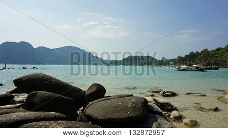 Long Beach On Ko Phi Phi Island