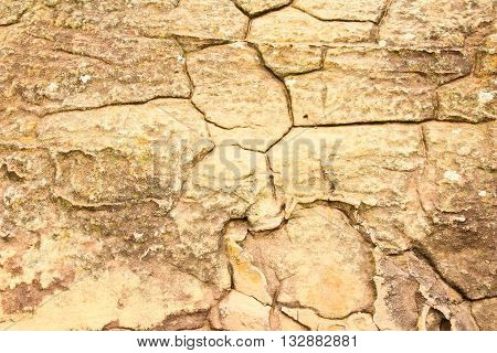 grunge texture of cracked stone surface for background