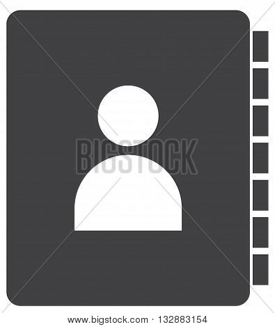 contact book icon telephone directory symbol communication