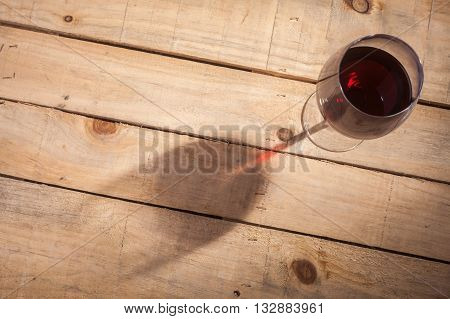 Wine And Shadow