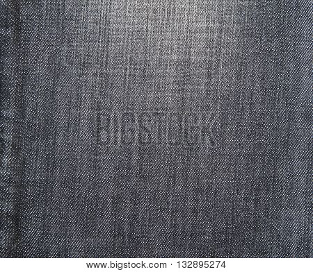 Old Black jeans fabric used for background