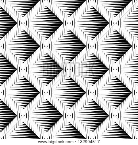 Design Seamless Diamond Convex Pattern