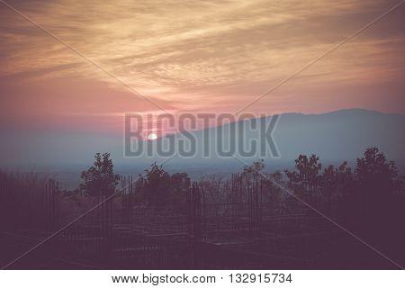 Big Sun On The Mountain