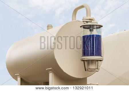 Silica Gel Breather Of Transformer