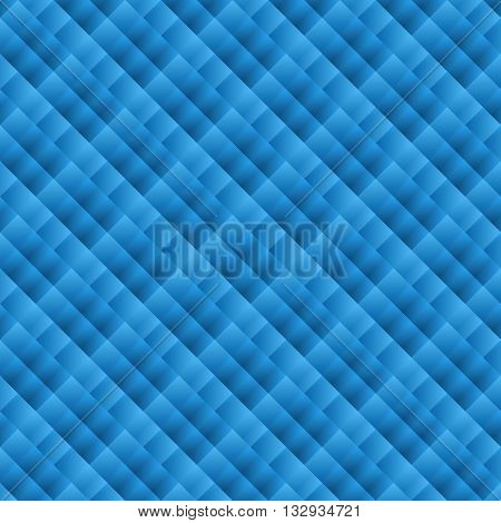 Abstract geometric pattern. Blue wallpapers. The background for the site cover presentation. Vector illustration.