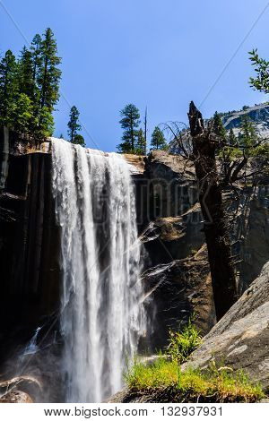 Vernal Falls, Yosemite National Park, California, Usa