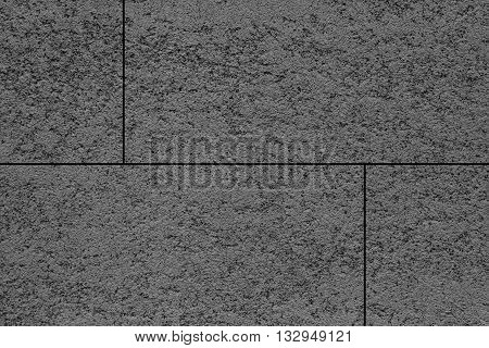 Black stone floor texture and background seamless
