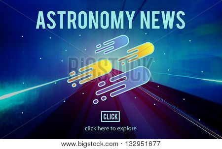 Astronomy News Exploration Nebular Concept