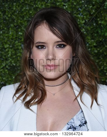 LOS ANGELES - JUN 02:  Taylor Spreitler arrives to the 2016 CBS Summer Soiree  on June 02, 2016 in Hollywood, CA.