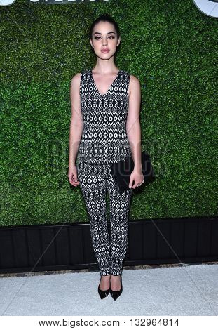 LOS ANGELES - JUN 02:  Adeline Kane arrives to the 2016 CBS Summer Soiree  on June 02, 2016 in Hollywood, CA.