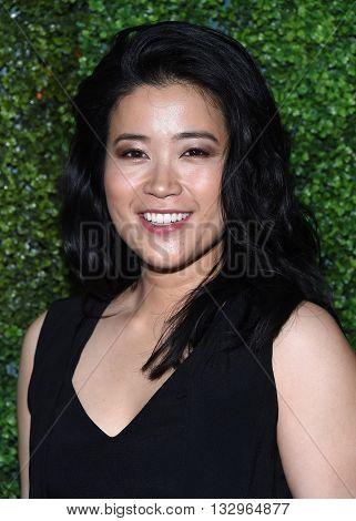 LOS ANGELES - JUN 02:  Jadyn Wong arrives to the 2016 CBS Summer Soiree  on June 02, 2016 in Hollywood, CA.
