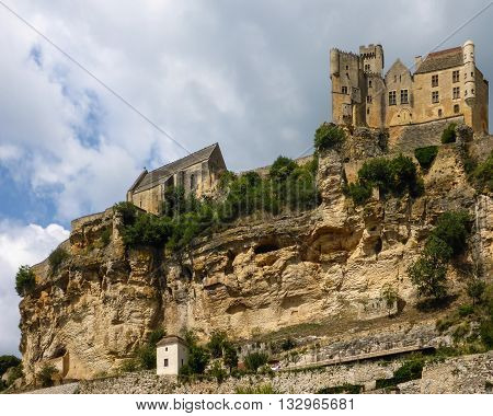 The Chateau de Beynac in France's Dordogne region