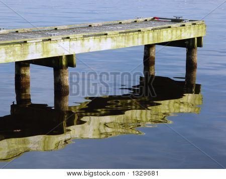 Dock With Reflection