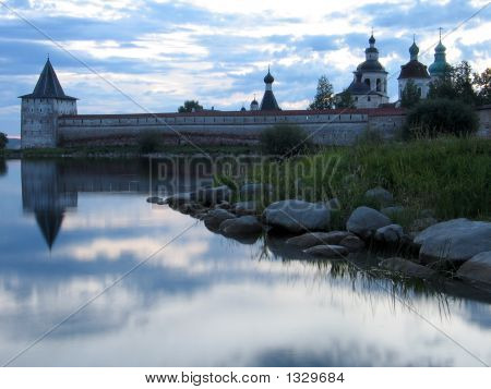 Evening In Kirilo-Belozersky Monastery.