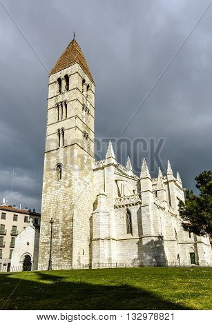 church of Santa Maria la Antigua in the city of Valladolid. Castile and Leon Spain