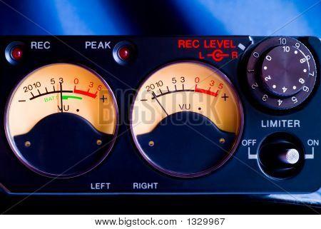 Pro Tape Recorder Closeup