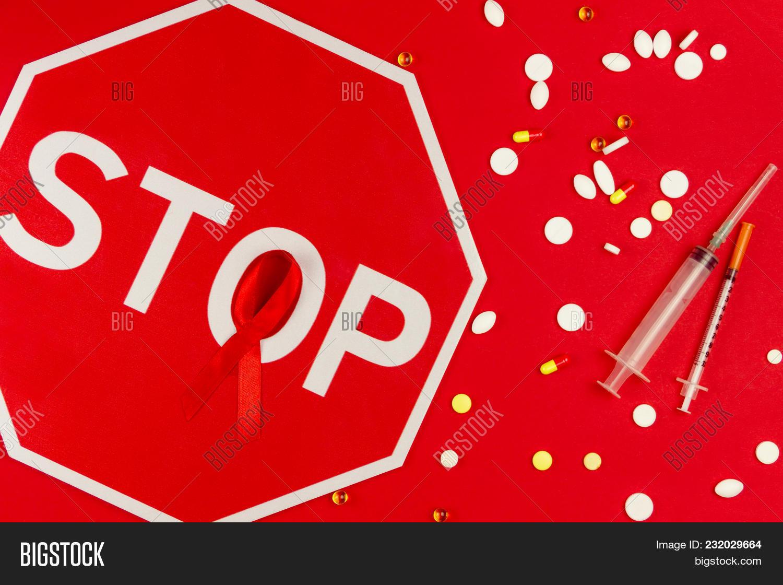 Red Tape Symbol Aids Image Photo Free Trial Bigstock